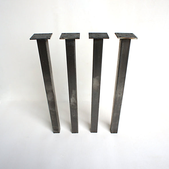 Steel Table Legs, 2x2, DIY Table legs