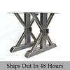 Custom Steel Table Legs, Trestle, DIY Table legs, Wood beam receptacle
