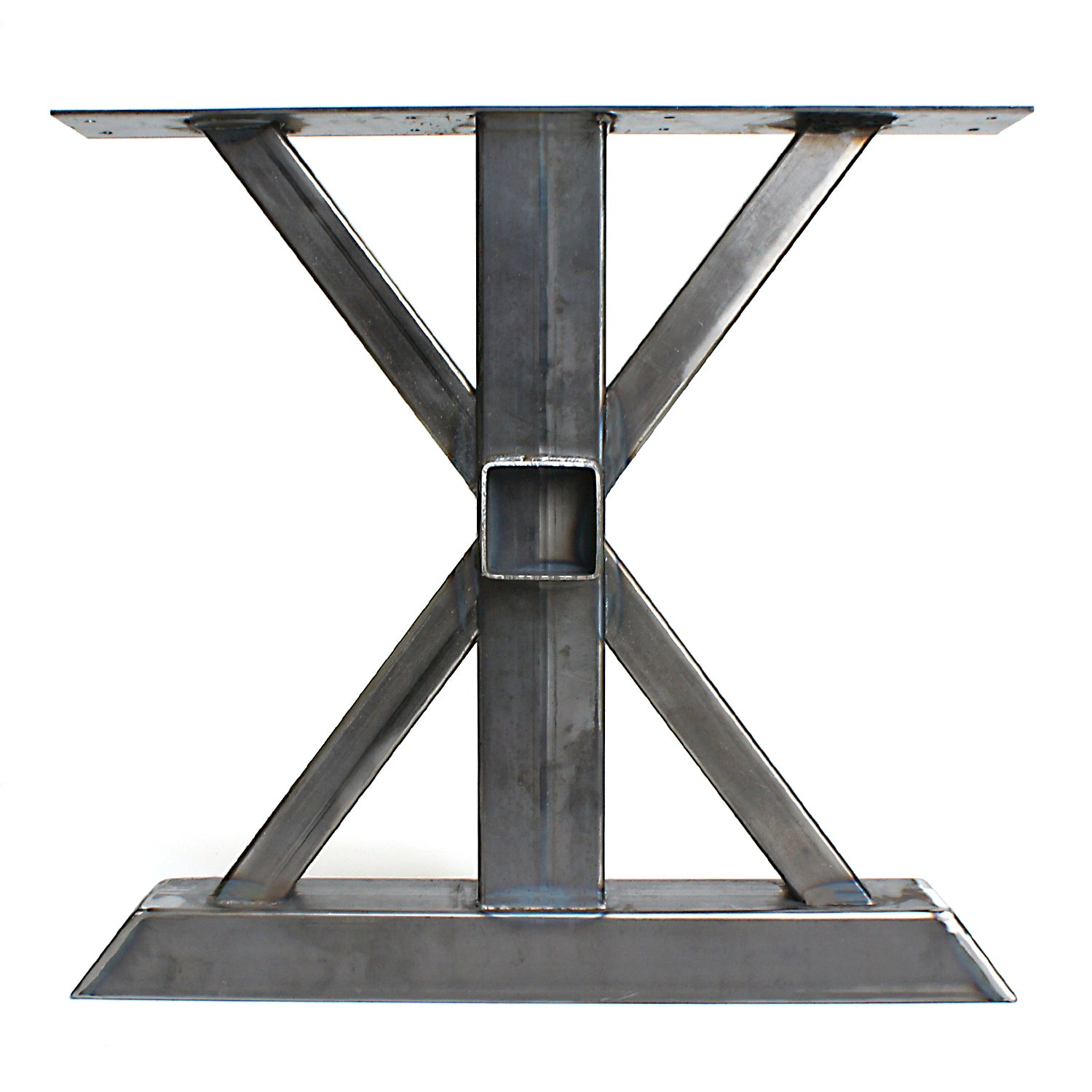 Magnificent Steel Table Legs Trestle Diy Table Legs Wood Beam Receptacle Download Free Architecture Designs Scobabritishbridgeorg