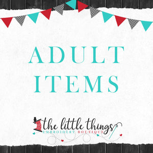 Adult Items