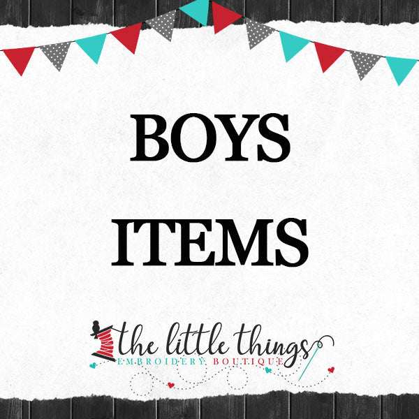 Boys Items