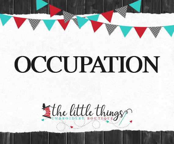 Occupation Specific