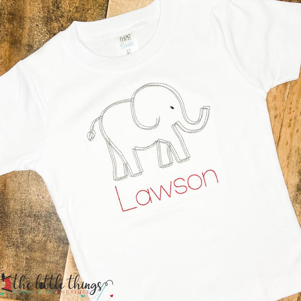 Elephant Sketch Shirt