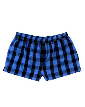 Women's Flannel Shorts