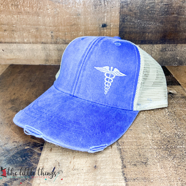 Medical Caduceus Trucker Hat