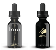 Humo E-liquid Lemon Meringue E-liquid front and back