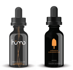 Humo E-liquid Orange Creamsicle E-liquid front and back