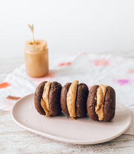 Superfood Peanut Butter Whoopie Pies