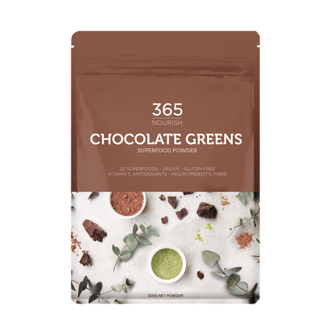 Chocolate Greens Superfood Powder 300g - 365 Nourish