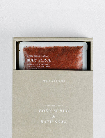 Addition Studio - Australian Native Body Scrub & Bath Soak - 365 Nourish