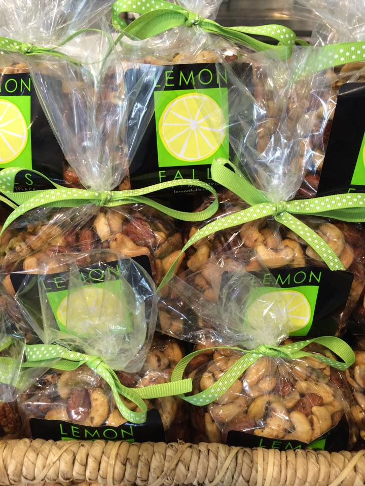Lemon Falls Roasted Rosemary Nuts