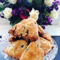 Lemon Falls Blueberry Lemon Scones