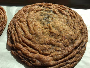 Lemon Falls Giant Chocolate Chip Cookies