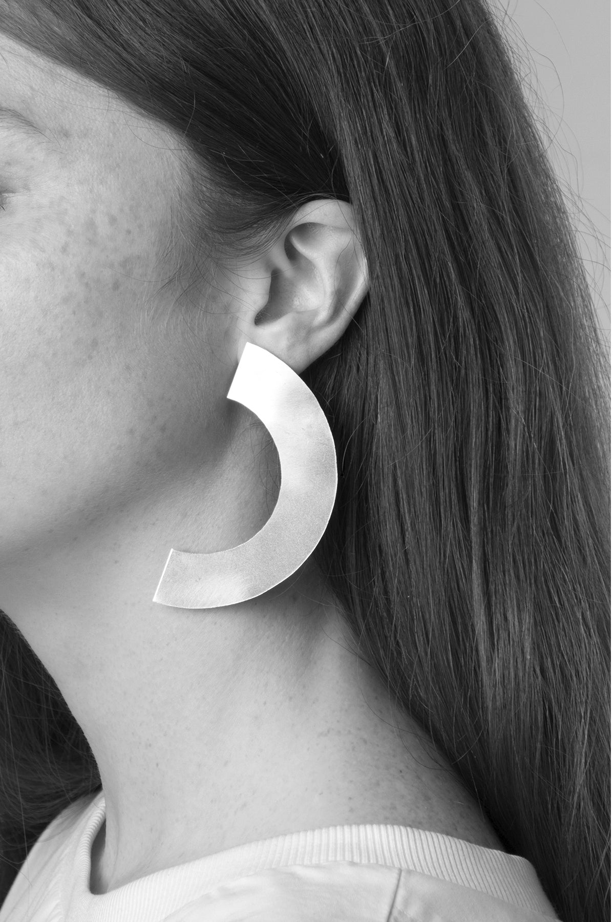 llayers jewelry earrings phase++ boucles oreilles oversize croissant lune minimal