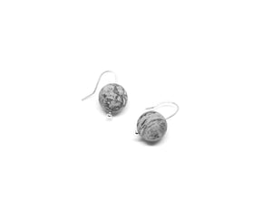 llayers jewelry earrings cosmos jasper stone boucles oreilles jaspe
