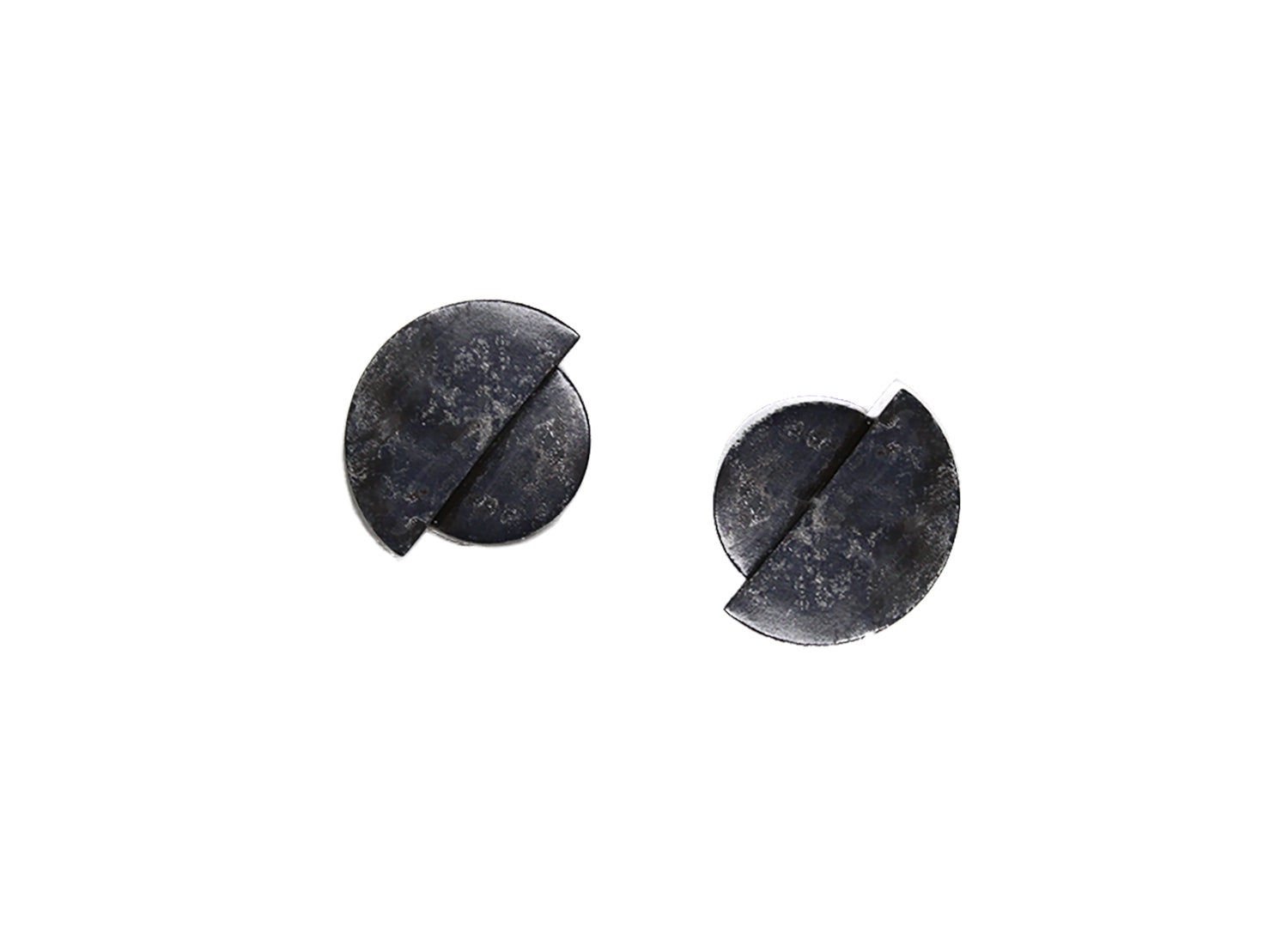 llayers jewelry earrings boucles oreilles eclipse black