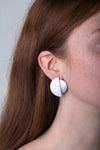 llayers jewelry earrings eclipse boucles oreilles lune minimal