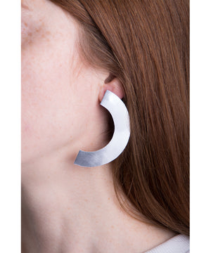llayers jewelry earrings phase+ boucles oreilles croissant lune minimal