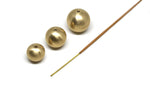 llayers jewelry sphere incense burner orion brass brûleur d'encens laiton boule minimal made in france