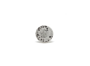 llayers jewelry ring mercury silver textured bague lunaire argent minimale made in france