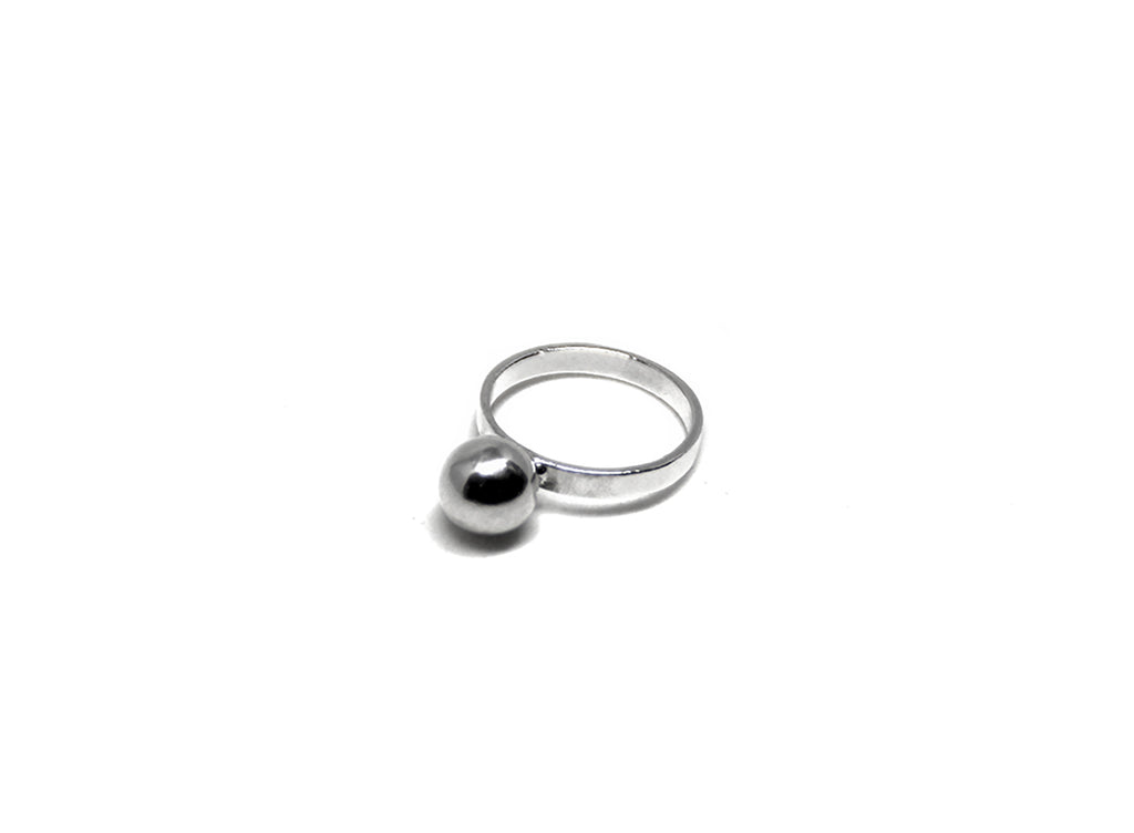 llayers jewelry ring solar lunar silver bague lune geometric géométrique