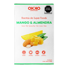 Almond & Mango Superfoods Bars (4 pieces)
