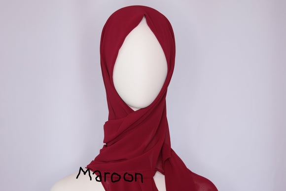 Deluxe Chiffon Hijabs