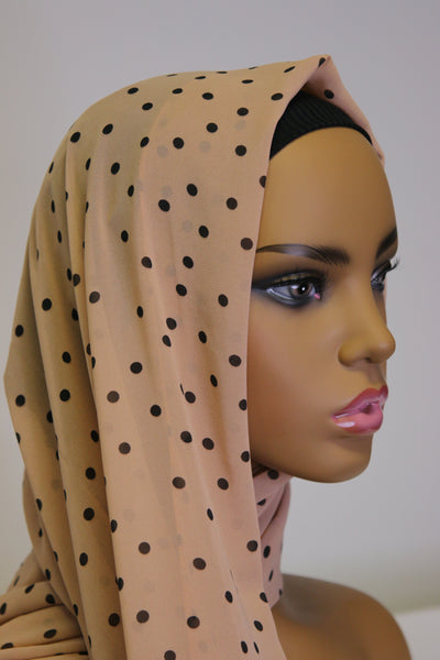 Polk-a-dot Hijab