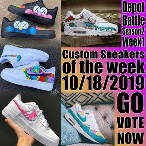 Custom Sneaker of the Week 10/18/2019 DEPOT BATTLE