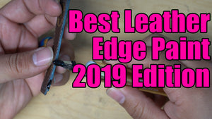 How to get the best Black Leather Edge for any project!