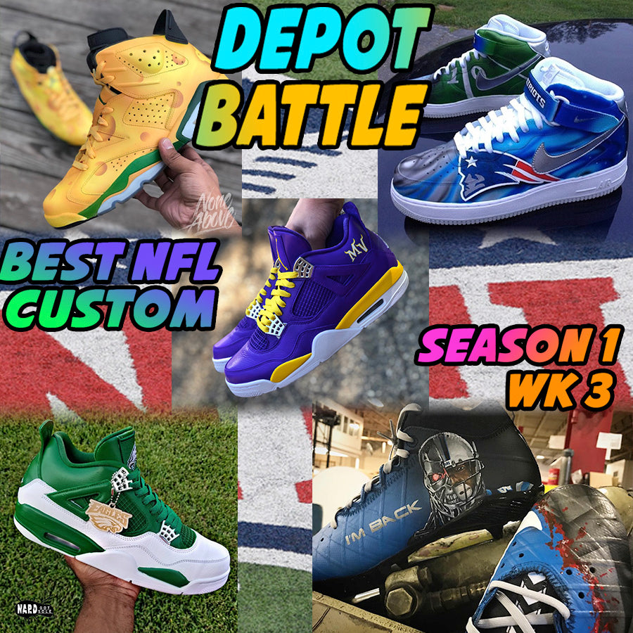 Best NFL Custom - Depot Battle S1 W3