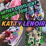 Artist Spotlight August 2018 Katty Lenoir