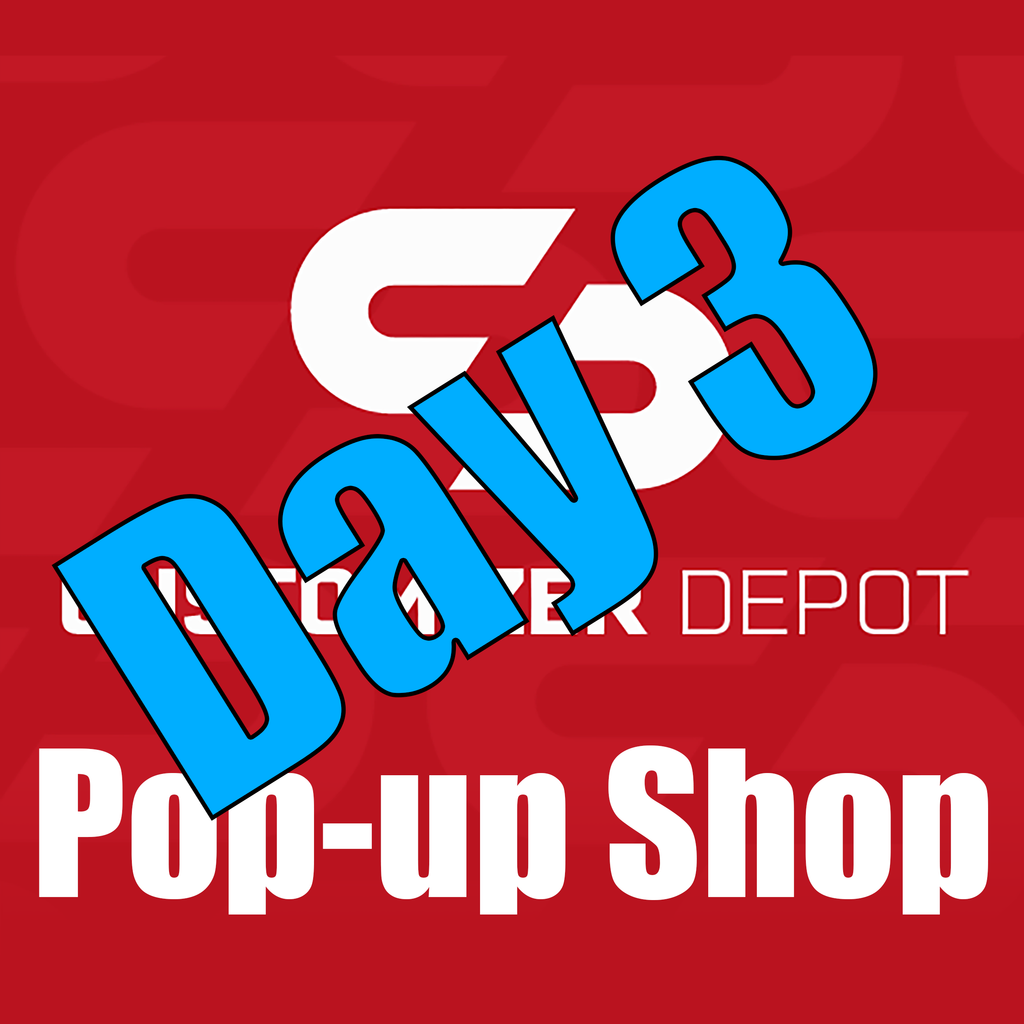 Pop-Up Shop DAY 3 UPDATE