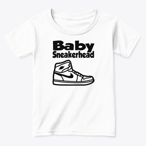 AJ1 Custom Made Toddler Baby sneakerhead Tee - CustomizerDepot