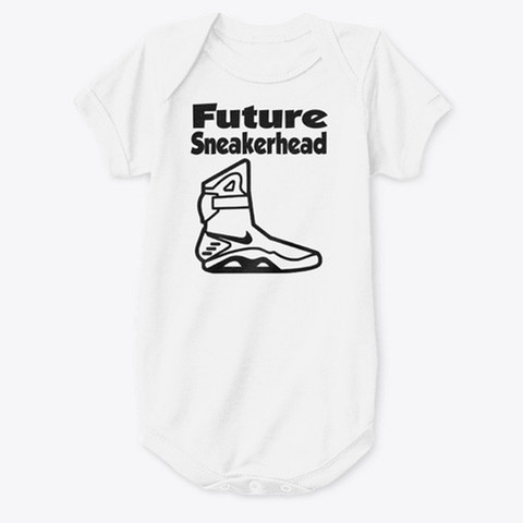 Future SneakerHead AirMags Baby Onesie - CustomizerDepot
