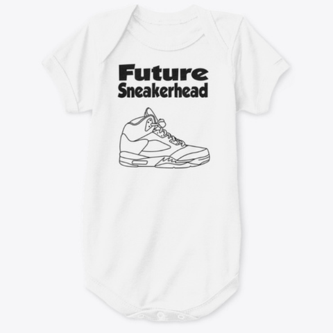 Future SneakerHead Jordan 5 Baby Onesie - CustomizerDepot
