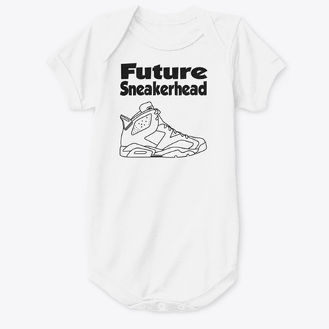 Future SneakerHead Jordan 6 Baby Onesie - CustomizerDepot