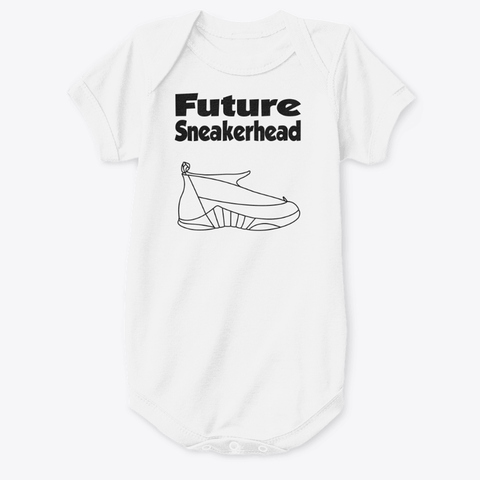 Future SneakerHead JordanX5 Baby Onesie - CustomizerDepot