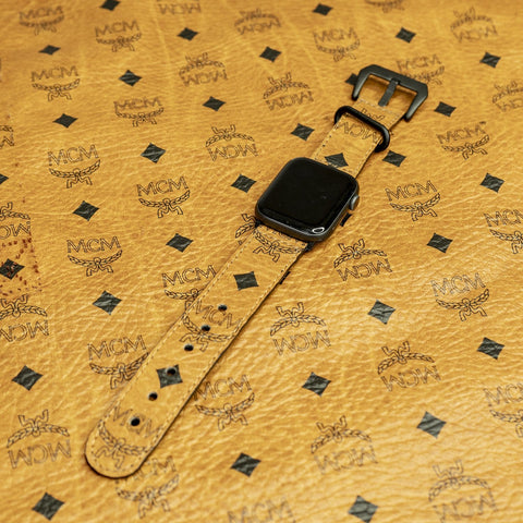 MCM Watchband Authentic Re-purposed