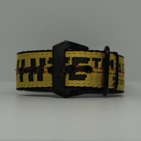 Yellow Off White Bracelet