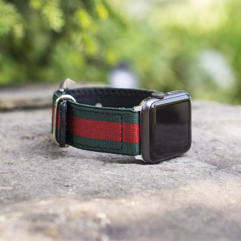Gucci Web Apple Watch Band - CustomizerDepot