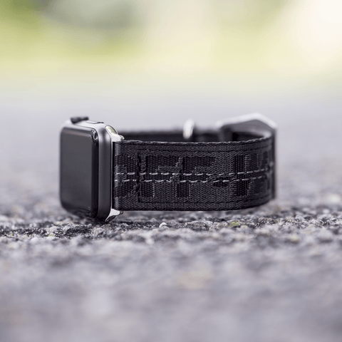 Black Off White Apple Watch Band - CustomizerDepot