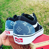 Vans Old Skool LV/Supreme Denim (White Stripe)