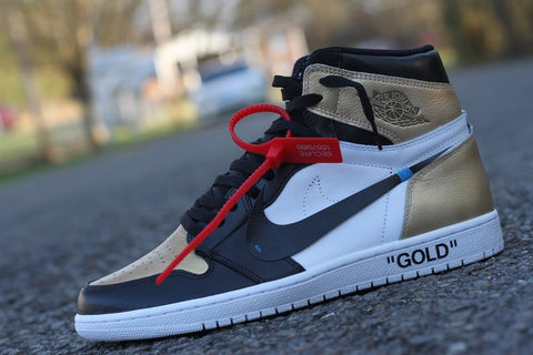 "Air Jordan 1 ""Golden Off White"""