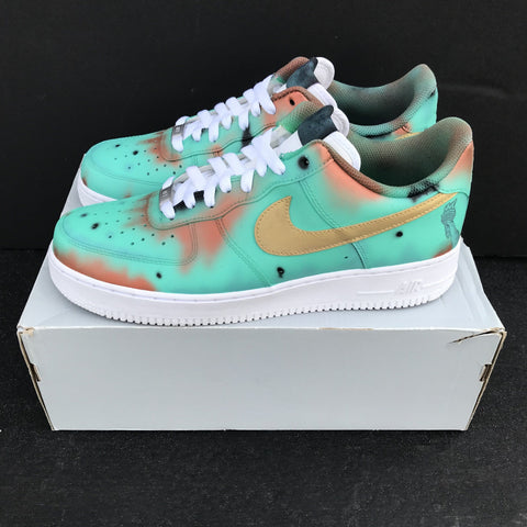 "Nike Air Force 1 ""Statue of Liberty"" - CustomizerDepot"