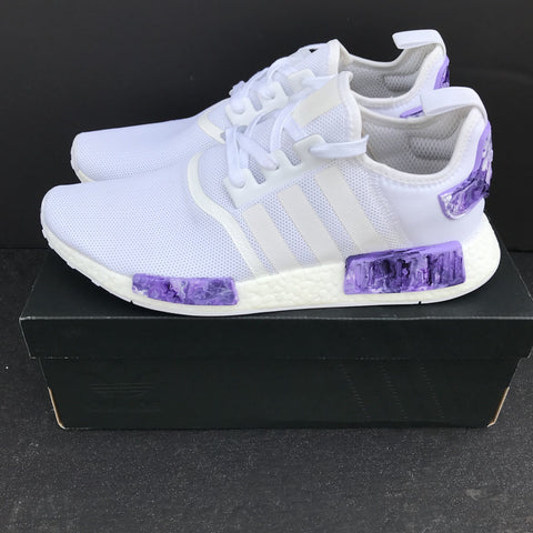 "Adidas NMD R1 ""Purple Marble"" Sample - CustomizerDepot"