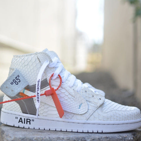 Cocaine Off White Jordan 1 - CustomizerDepot