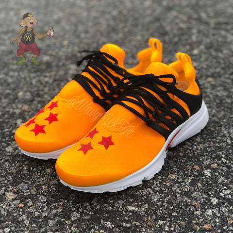 "Nike Air Prestos ""Dragon Ball Z"" - CustomizerDepot"