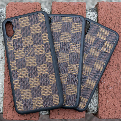 Brown Damier Iphone Case - CustomizerDepot