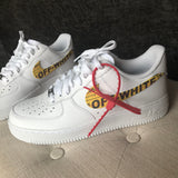 Off White Air Force 1's V1 - CustomizerDepot
